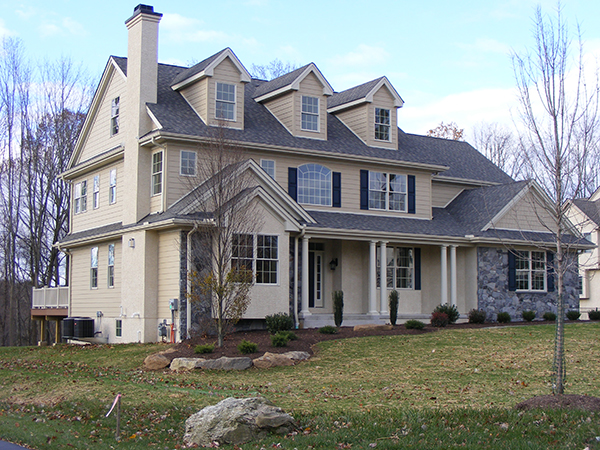 Custom Home built by Quindlen Builders in Media PA